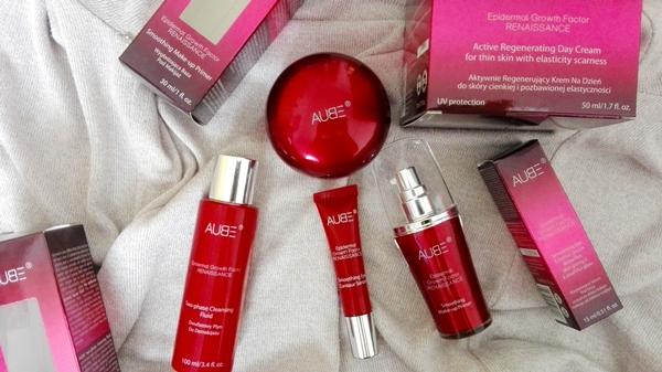 Prezentacja kosmetyków AUBE