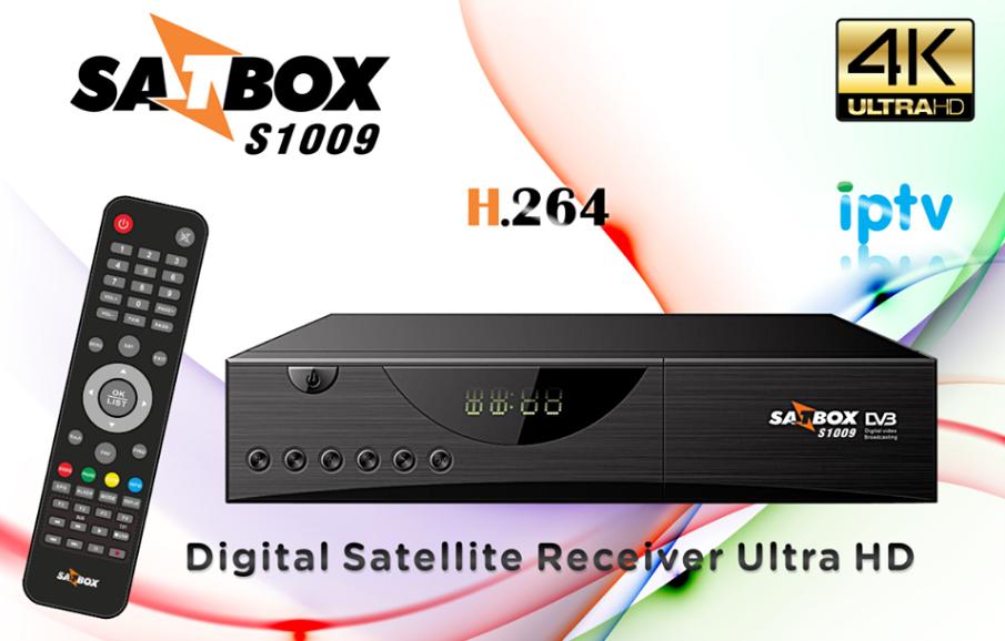 Resultado de imagem para SATBOX S1009 4K IPTV
