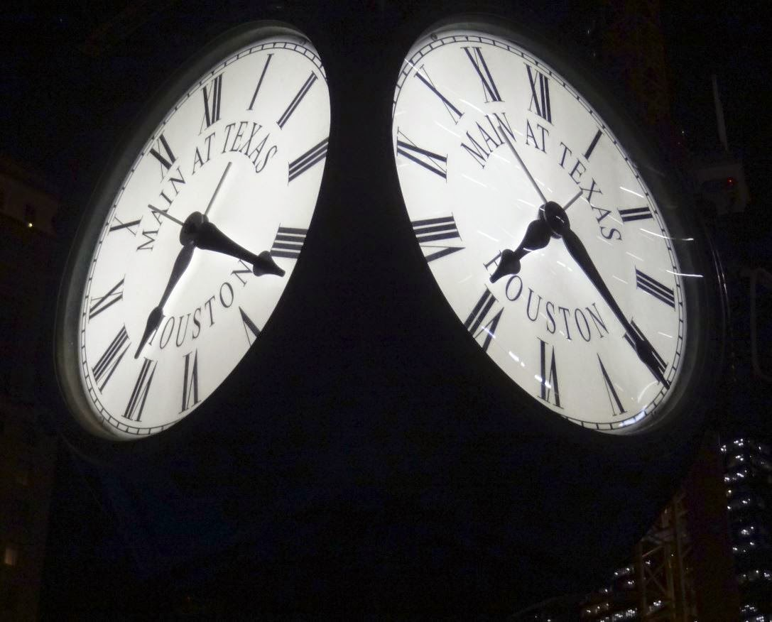 Main at Texas Clock Dials