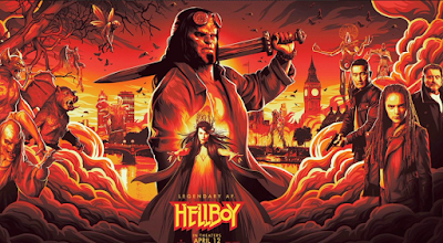 leaked hellboy trailer poster
