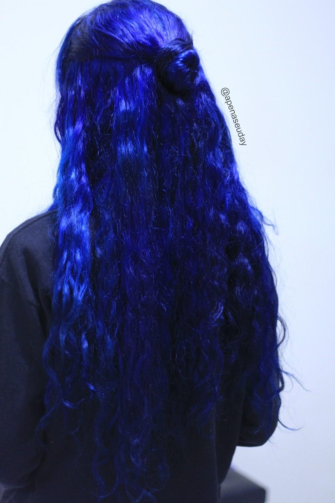 Intensificando cor do cabelo