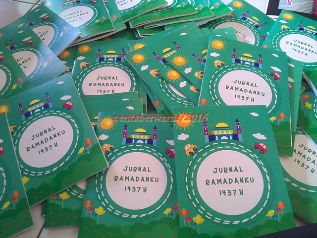 Jurnal Ramadanku, Buku Pertama Kami