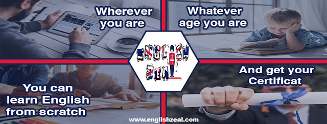 Learn English, English Online Courses, Grammar, Vocabulary, Motivation