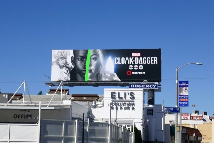 Cloak Dagger season 2 billboard