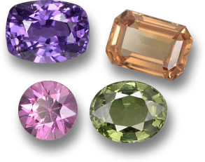 Fancy Colored Sapphires from GemSelect