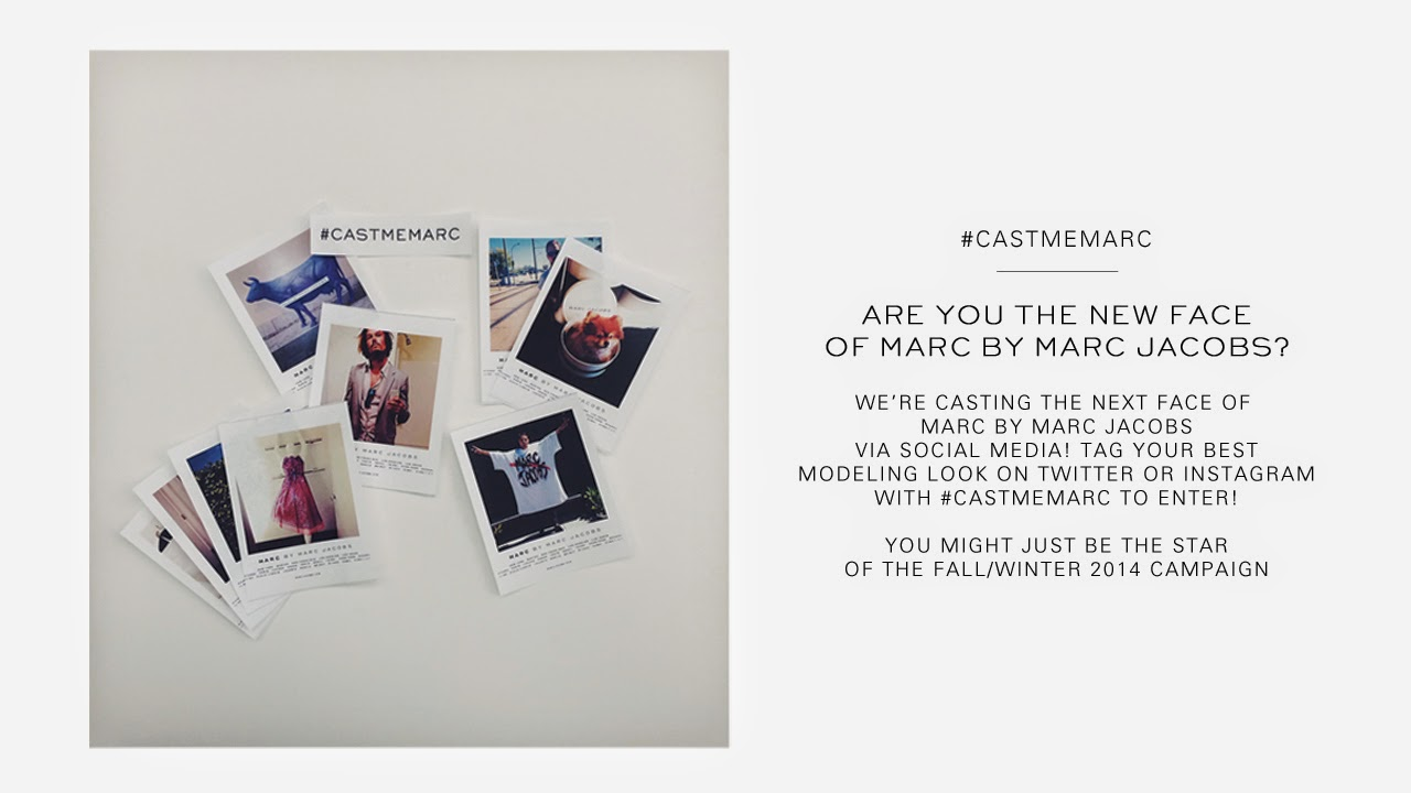 MARC JACOBS, AD CAMPAIGN, CONTEST