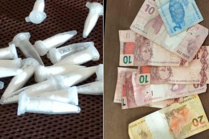 Policiais da 24ª CIPM prendem traficante de drogas em Ourolândia