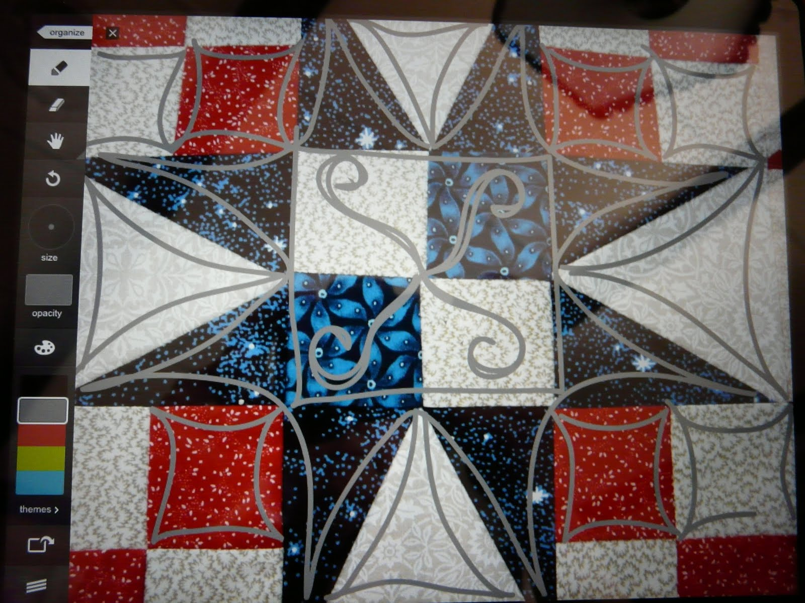 Timber Hill Threads: Using Your iPad for Drawing Quilt DesignsQuilt Drawing