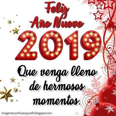 10 imagenes para dedicar en Año Nuevo 2019