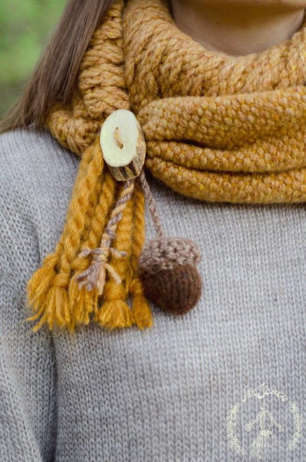 Sciarpa ArJanas tessuta a mano al telaio in lana e alpaca
