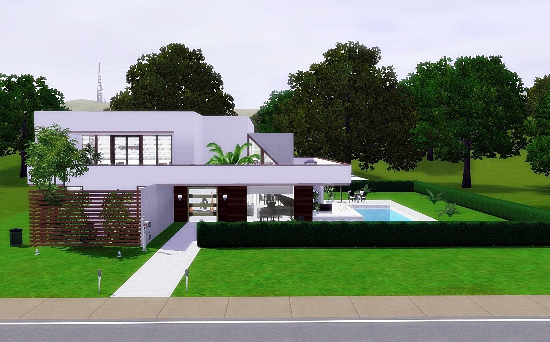 Modern Cozy House The Sims 3 Via