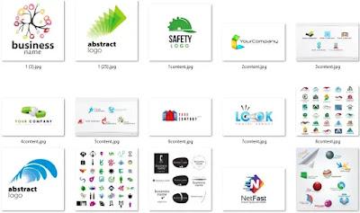 تحميل 50 شعار إحترافي عينة من مكتبة الشعارات العملاقة1 - هارد المصمم العملاق