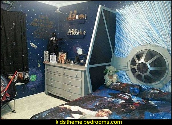 Star Wars bedroom decorating ideas-boys star wars theme bedroom ideas