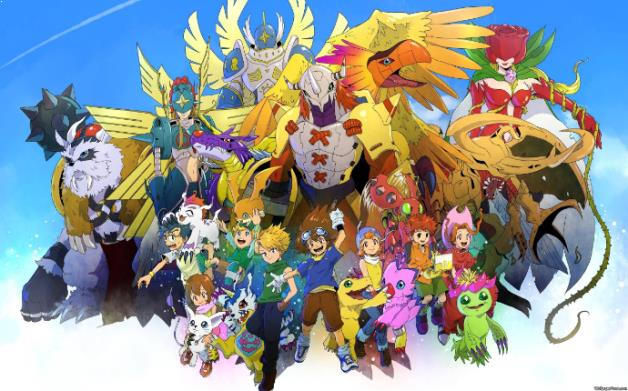 Digimon Adventure Daftar Anime Isekai Terbaik ( Tokoh Utama Masuk Dunia Lain )
