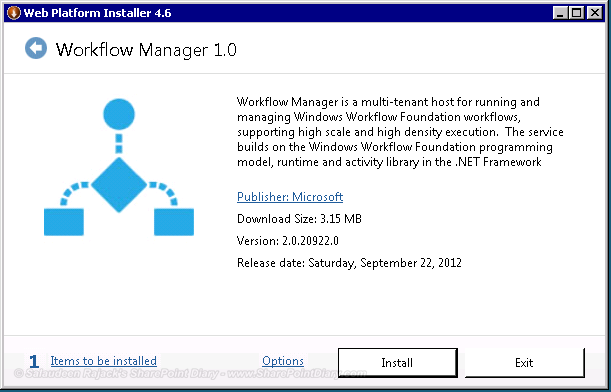 sharepoint 2013 workflow manager client