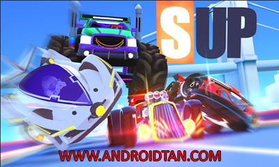 Download SUP Multiplayer Racing Mod Apk v1.1.2 (Unlimited Money/Coins) Terbaru 2017