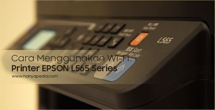 WiFi Printer Epson L565 Series