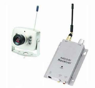 4# كاميرا مراقبة لاسلكية صغيرة