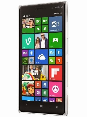 Nokia Lumia 830 cross view