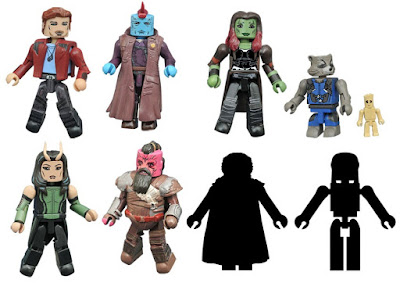 Guardians of the Galaxy Vol. 2 Marvel Minimates Series by Diamond Select Toys