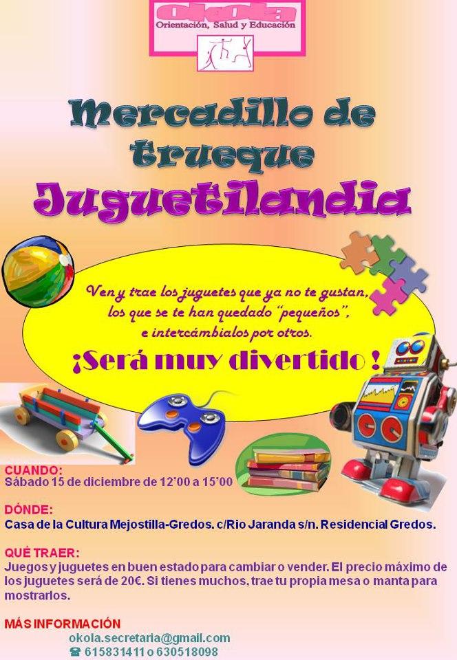 Okola Actividades Mercadillo De Juguetes Juguetilandia