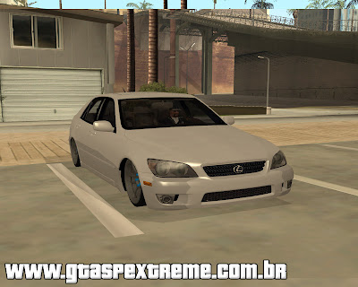 Lexus IS300 Rstyle para grand theft auto