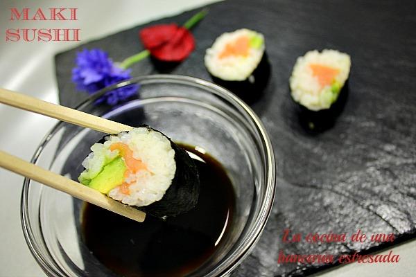 Receta maki sushi