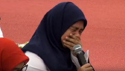 Video Mengharukan, Pegawai Pemda DKI Jakarta Menangis menanyakan Harta Syubhat