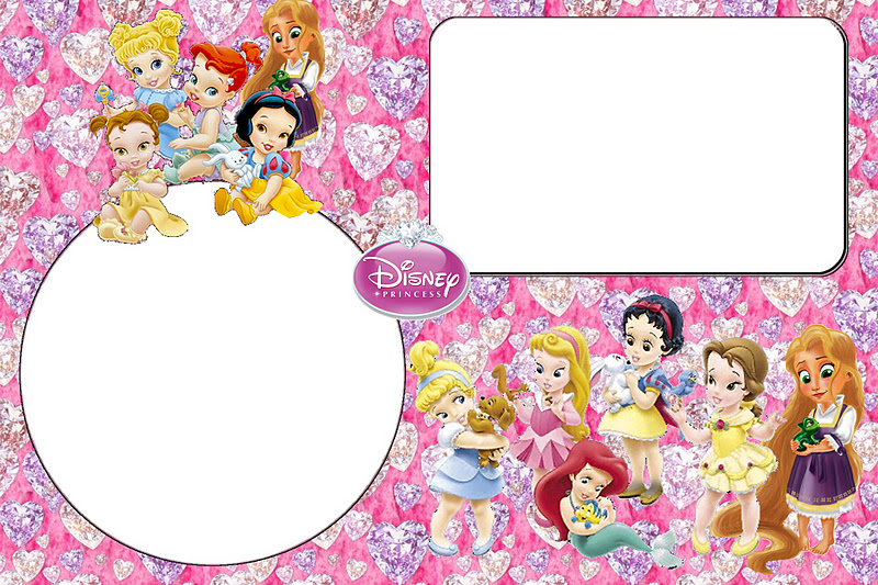 Disney Princess Babies Free Printable Party Invitations Or Cards Oh My Fiesta In English