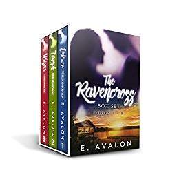 The Ravencross Box Set Books 1 - 3 - a romance suspense book promotion E. Avalon