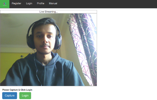 Smart Face Recognition System using Python & PHP build with