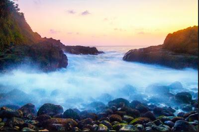 pantai paling cantik di jogja, wedi ombo