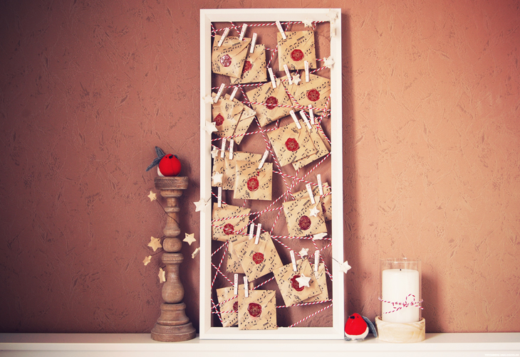 rotkehlchen diy advent calender with lots of ikea stuff. Black Bedroom Furniture Sets. Home Design Ideas