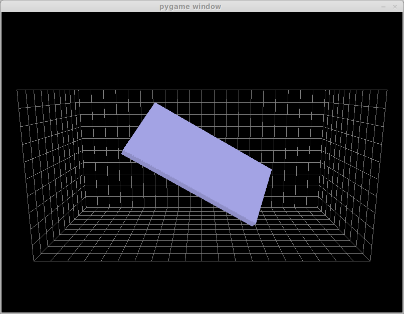 Bitify: 3D OpenGL visualisation of the data from an MPU-6050