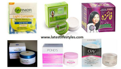 Harmful Pakistani Skin Whitening creams