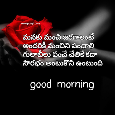 Top 5Telugu Good Morning Quotes & Greetings with Images