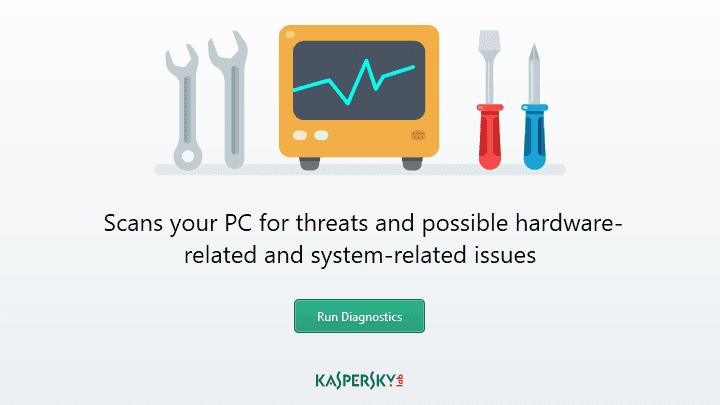 Ketahui Masalah PC dengan Kaspersky System Checker