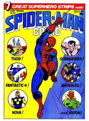 Spider-Man Comic #314