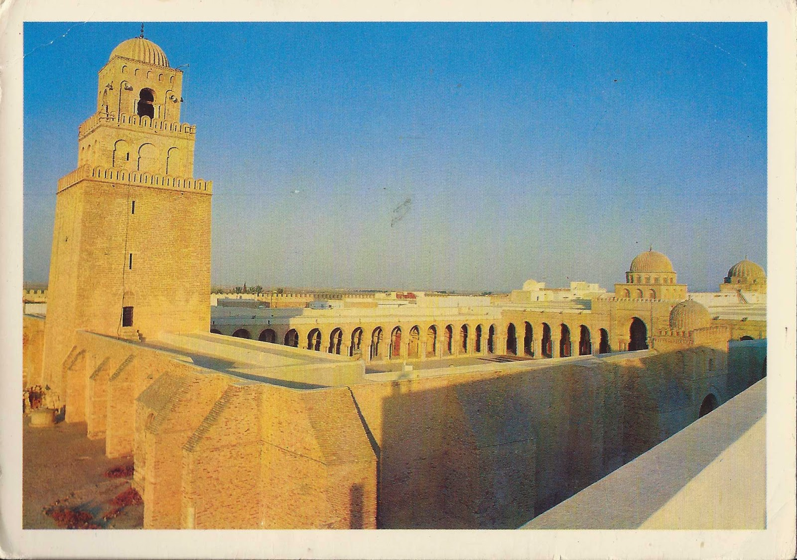 Unesco world heritage site: the Mosque of Uqba in Kairouan