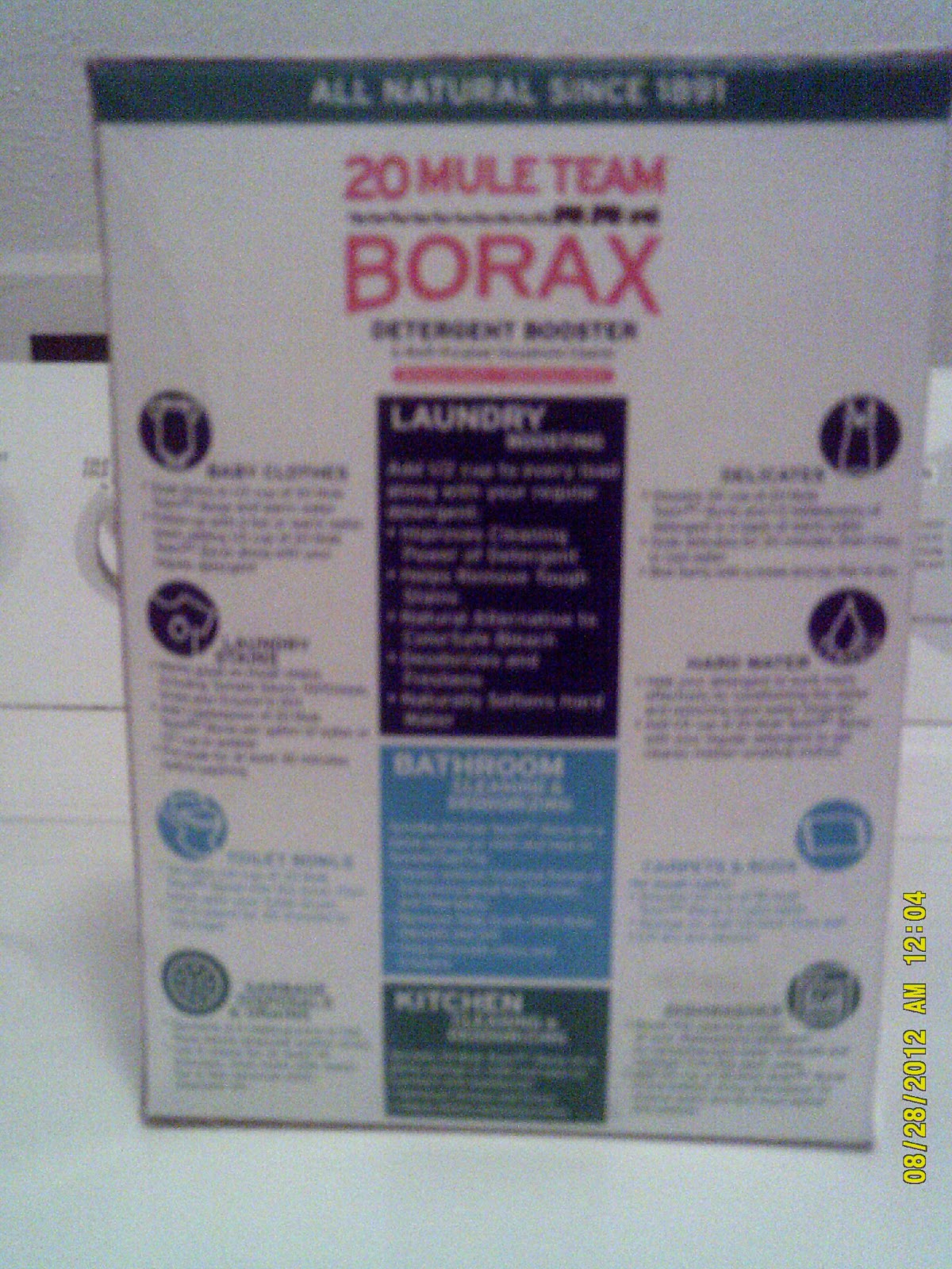 Trying New Products Giveaway 20 Mule Team Borax