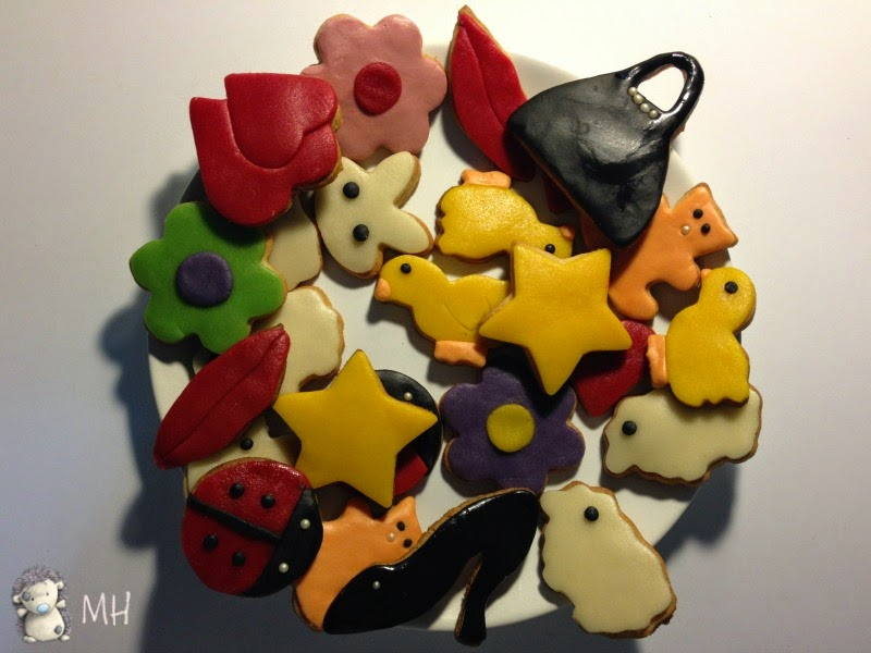 Galletas decoradas con Fondant