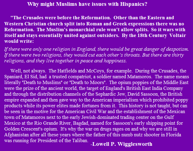 Muslims & Hispanics