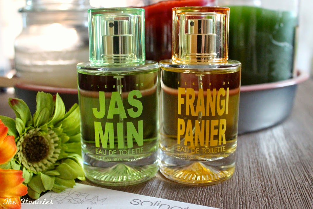 Nouvelles fragrances Solinotes : Fleur de jasmin et Fleur de frangipanier