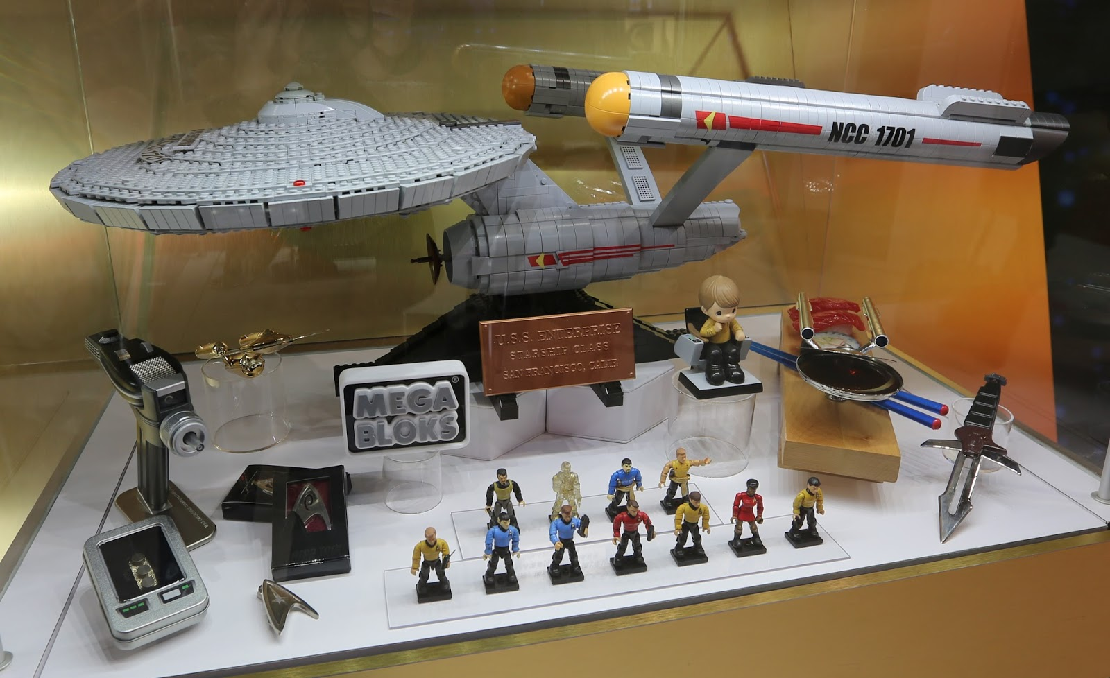 The Trek Collective First Look At New Star Trek Mega Bloks