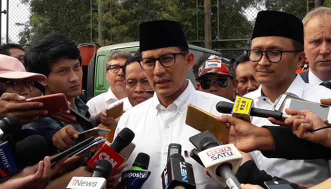 Sandiaga Uno PDIP dan Gerindra Sangat Mungkin Untuk Berkoalisi