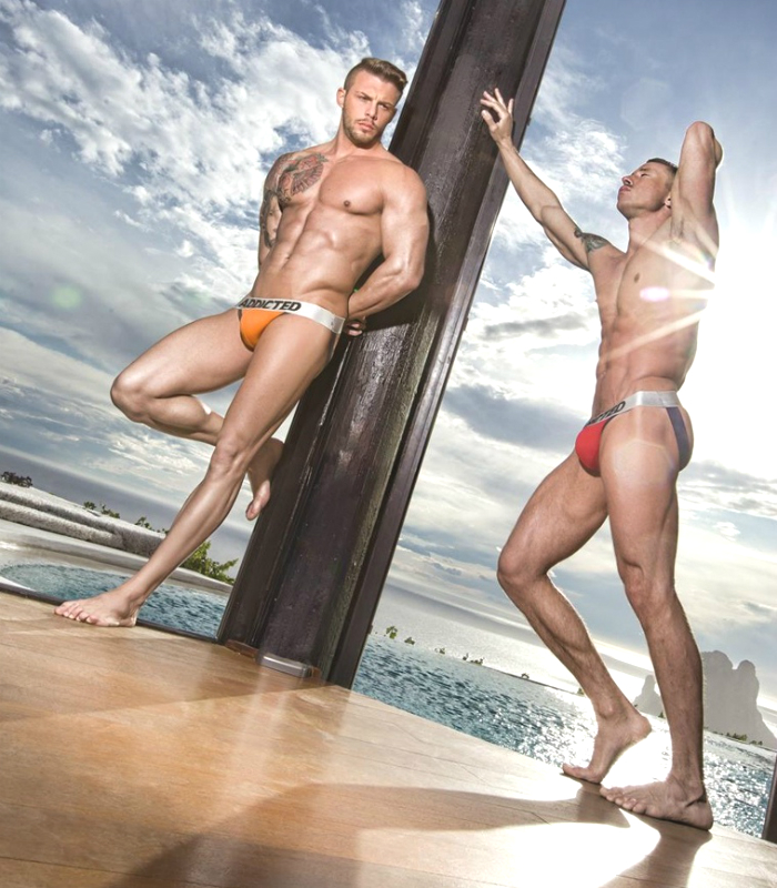Bruno Rodriguez and Dmitry Strigun • Male Models