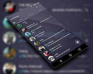 WhatsApp Dark Navi Versi terbaru 2.17.312 Apk