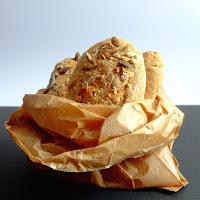 Pão de espelta e centeio integral