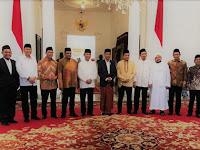 Bertemu dengan Presiden Jokowi, Ini Keterangan Pers GNPF MUI