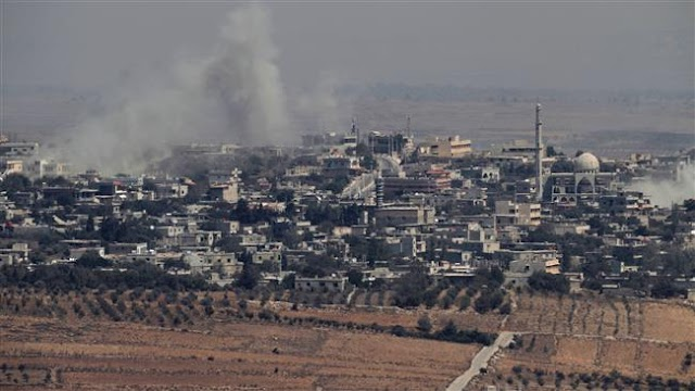 Israel  jets attacks Syrian military positions in Golan Heights